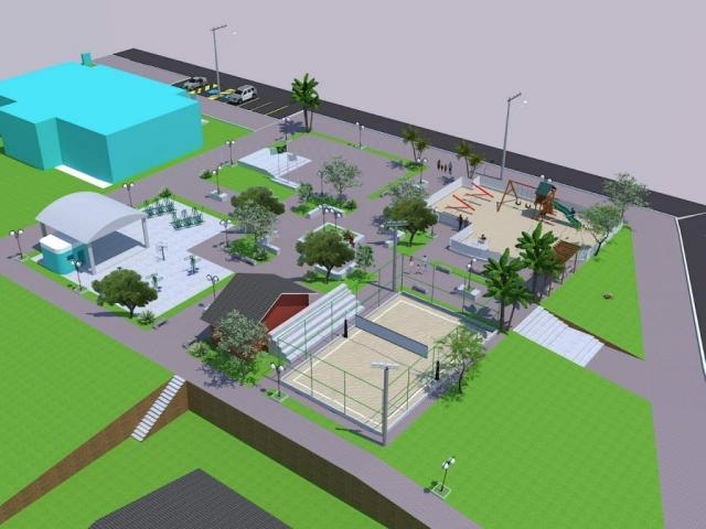 Projeto da Praça Municipal